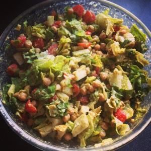 Kikerherne salat