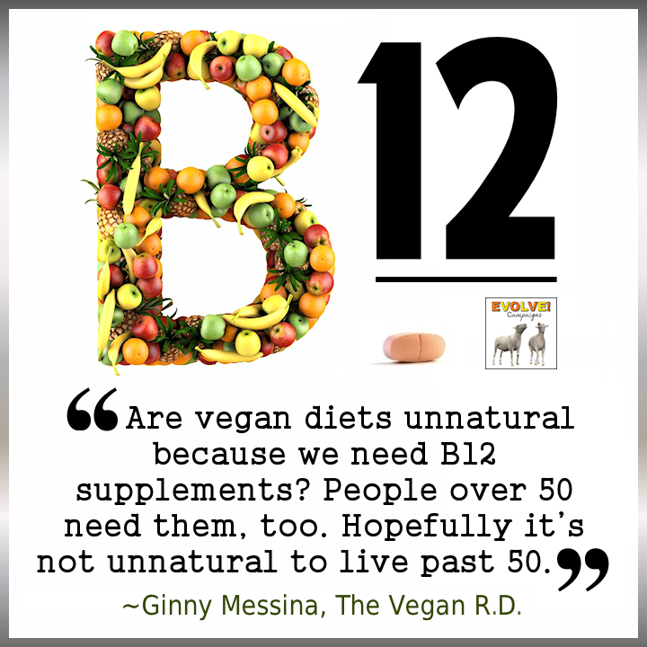 arevegandietsunnaturalbecauseweneedb12supplements