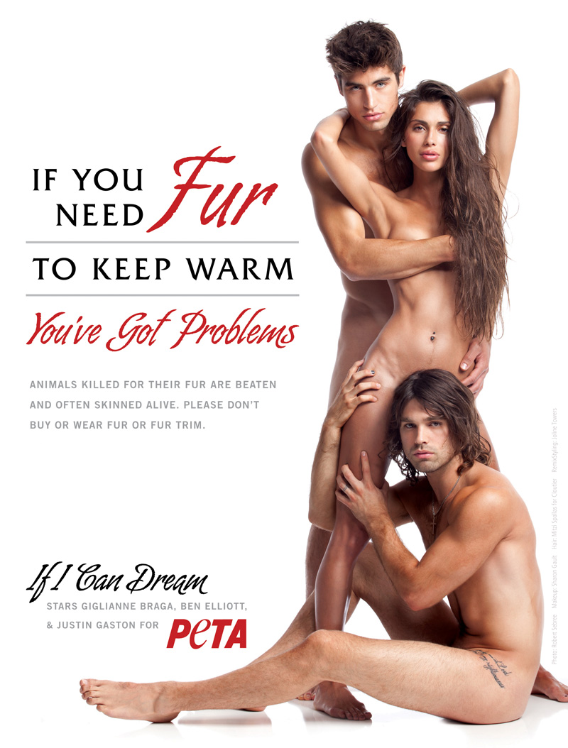 'If I Can Dream Stars' Get Naked for PETA