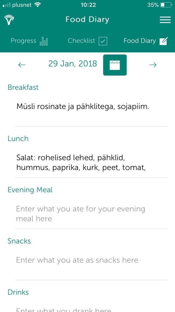 toidupäevik